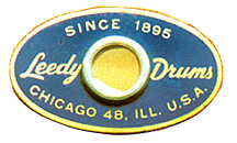 Leedy Slingerland Badge